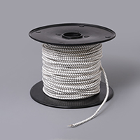 "Thumbnail Image for Synthetic Shock Cord with Polyester Jacket 3/16"" x 300' White"