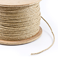 "Thumbnail Image for Unmanila Polypropylene Rope 1/4"" x 1200' Tan"