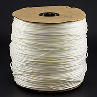 "Thumbnail Image for Welt Cord Foam (No Filler) 4/32"" x 1250-yd White (EDC) (CLEARANCE)"