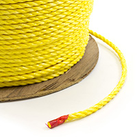 "Thumbnail Image for 3-Strand Polypropylene Rope 5/16"" x 1200' Yellow"