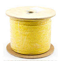 "Thumbnail Image for 3-Strand Polypropylene Rope 1/2"" x 600' Yellow (ESPO)"