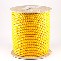 "Thumbnail Image for 3-Strand Polypropylene Rope 5/8"" x 600' Yellow (ESPO)"