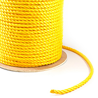 "Thumbnail Image for 3-Strand Polypropylene Rope 3/4"" x 600' Yellow (ESPO) (CLEARANCE)"