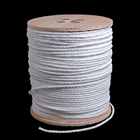 "Thumbnail Image for 3-Strand Polypropylene Rope 1/4"" x 1200' White"