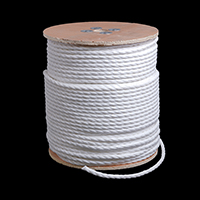 "Thumbnail Image for 3-Strand Polypropylene Rope 3/8"" x 600' White"