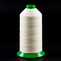 Thumbnail Image for A&E Poly Nu Bond Twisted Non-Wick Polyester Thread Right Twist Size 138 White