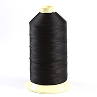 Thumbnail Image for Coats Ultra Dee Polyester Thread Soft Non Bonded Gral Anti-Static Finish Size 138 (#12) Black (1 Ea is 16oz) from Trivantage