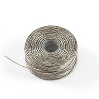 Thumbnail Image for Coats Polymatic Belbobs Bonded Monocord Dacron #M Size FF Grey 56-pk (LAS)