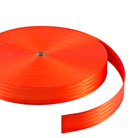 "Thumbnail Image for Polyfab Shade Sail Edge Webbing 2"" x 109-yd Antec Orange"