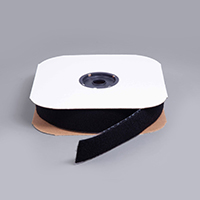 Velcro Nylon Tape Loop #1000 Adhesive Backing #191195 2' Black (Standard Pack 25 Yards) $2.55
