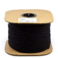 Velcro One-Wrap Cable Tie Strap #170075 1' x 8' Black (Standard Pack 675 Each) $0.57
