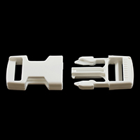Fastex Side Release Buckle 1' Delrin White $1.07