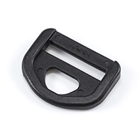 Thumbnail Image for YKK® Strong Type D-Ring #93838 Black from Trivantage