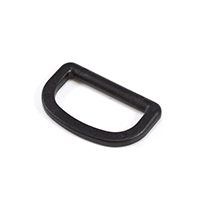 "Thumbnail Image for Fastex D-Ring 1-1/2"" Acetal Black"