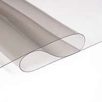 "Thumbnail Image for Visilite Double Polished Clear Vinyl 16 Mil x  54"" Smoke 72-yd"